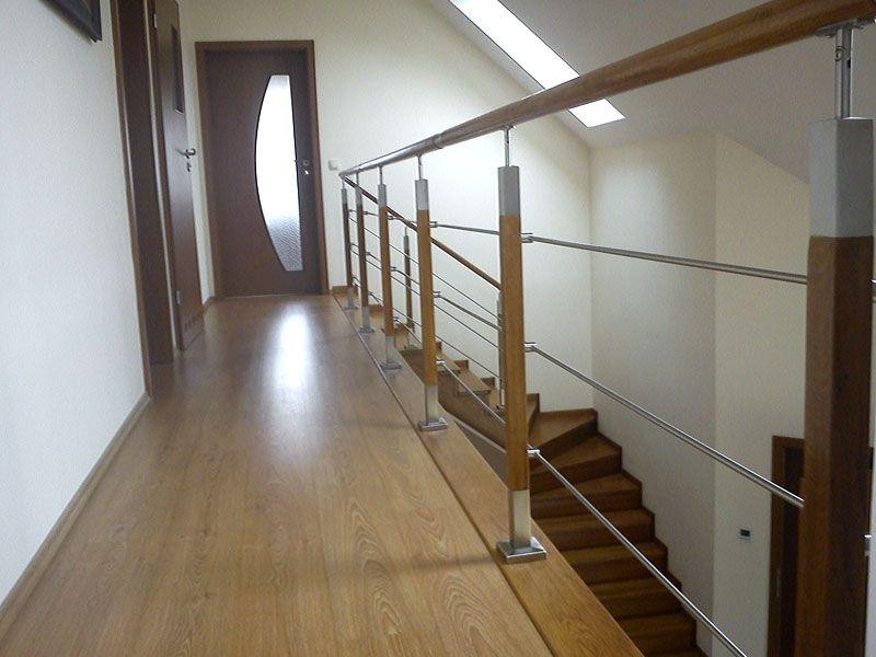 balustrada schodowa pozioma