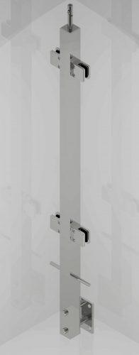 L1025 SAT 40x40 szkło przelot