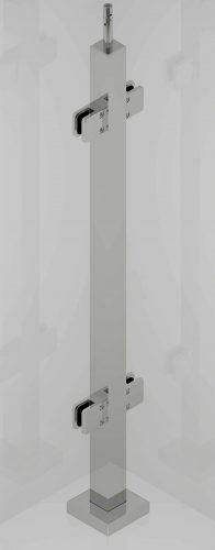 L875 40x40 SAT szkło przelot